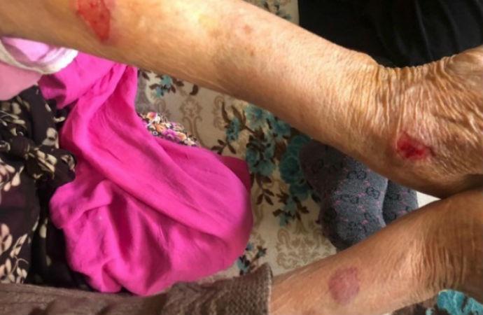 Yerine kayyum atanan eş başkanın evine baskın: 90 yaşındaki annesini darp ettiler