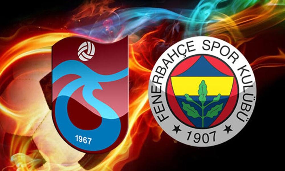 Trabzonspor – Fenerbahçe maçı hangi kanalda, saat kaçta? İşte muhtemel 11'ler
