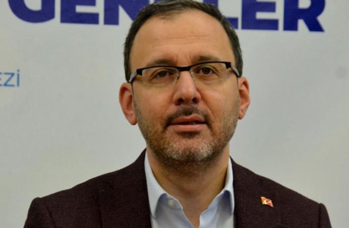 Gençlik ve Spor Bakanı Kasapoğlu'ndan 'koronavirüs' açıklaması