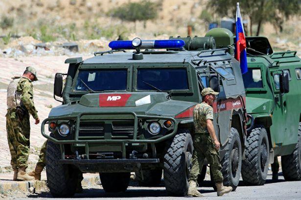 Rus askeri Serakib'de devriyeye başladı