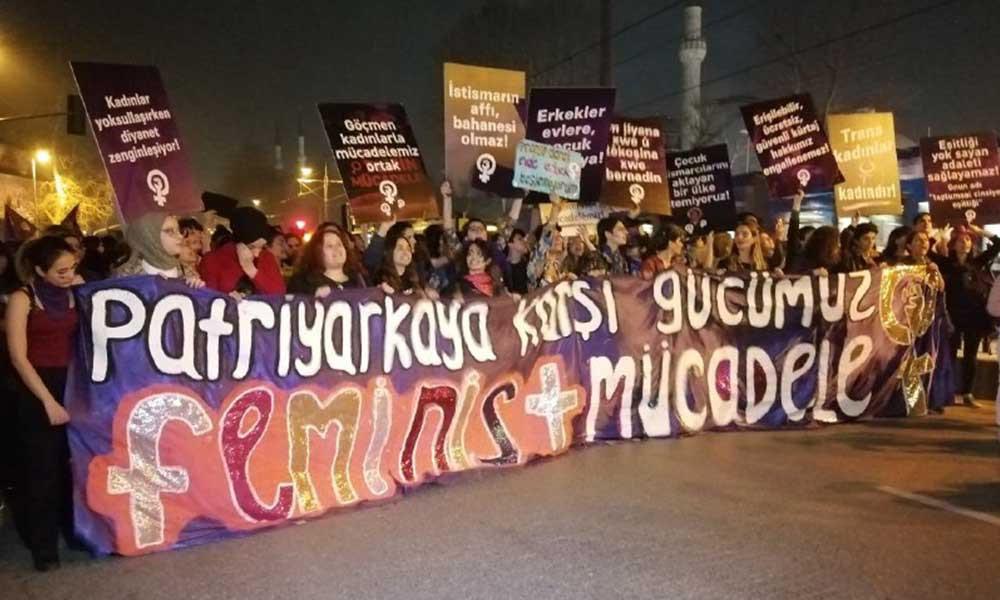 8 Mart'ta yerlerde sürüklenerek gözaltına alınan kadınlar serbest bırakıldı