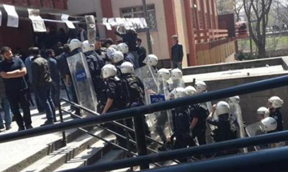 DTCF'de bomba ihbarı bahanesi: Yedi öğrenci gözaltında