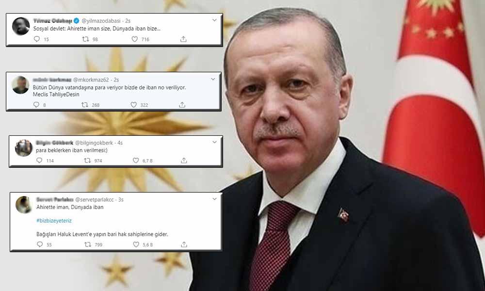 IBAN tepkisi! Türkiye Devleti, vatandaşına para yerine IBAN numarası verdi