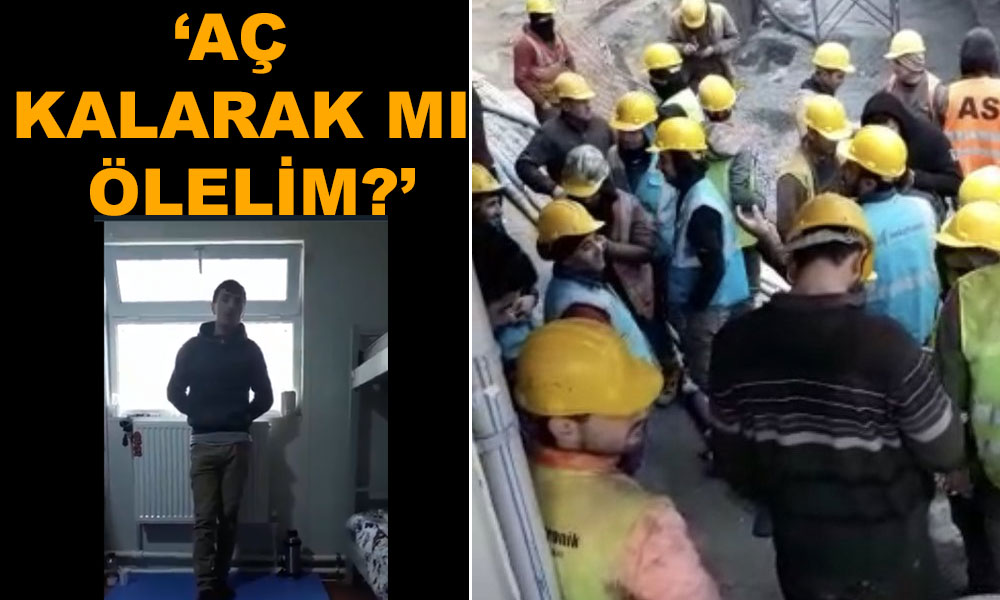 'Yaşamak için' izin isteyen işçiler işten çıkarıldı! #Evdekal'masına kalalım ama nasıl?