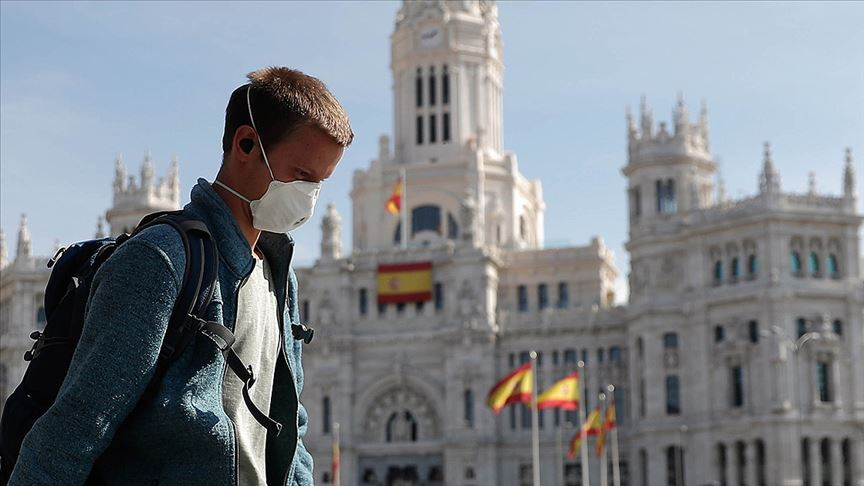 İkinci dalgayı en sert yaşayan İspanya'da korkutan tablo: İki günde 16 bin yeni vaka