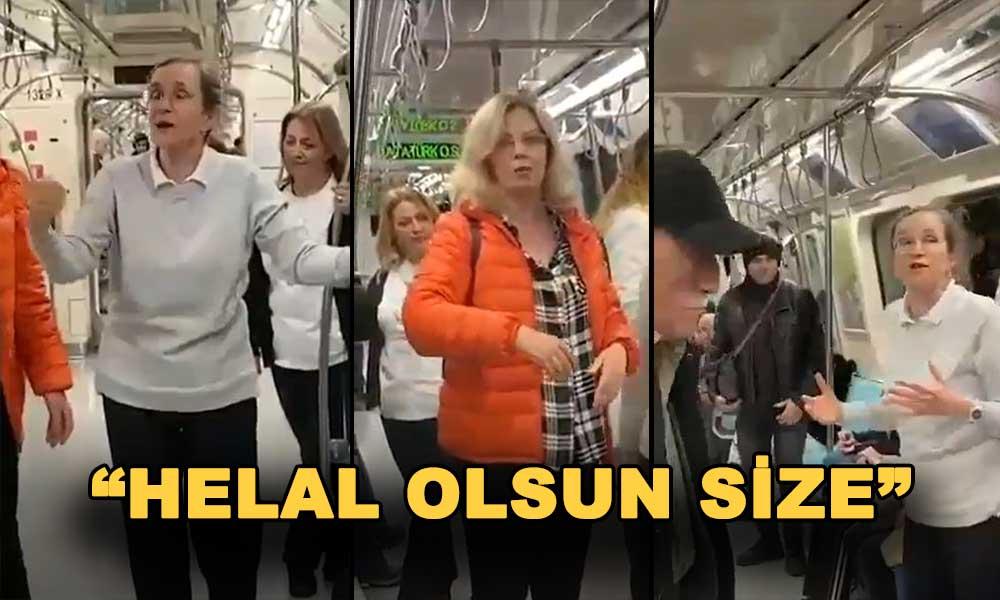 Herkesin izlemesi gereken video… Metroda koronavirüsten nasıl korunulacağını anlattılar