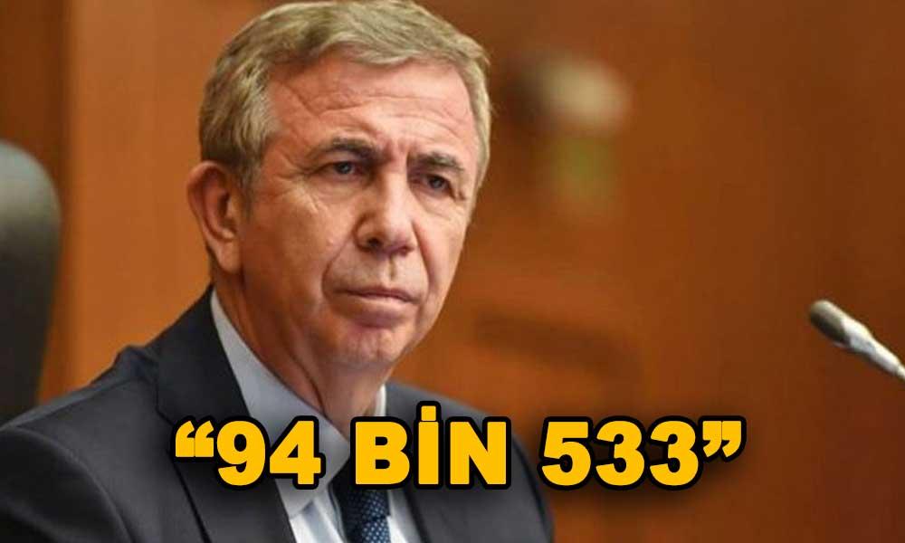 AKP hesapları bloke etmekle uğraşırken Mansur Yavaş vahim rakamı açıkladı