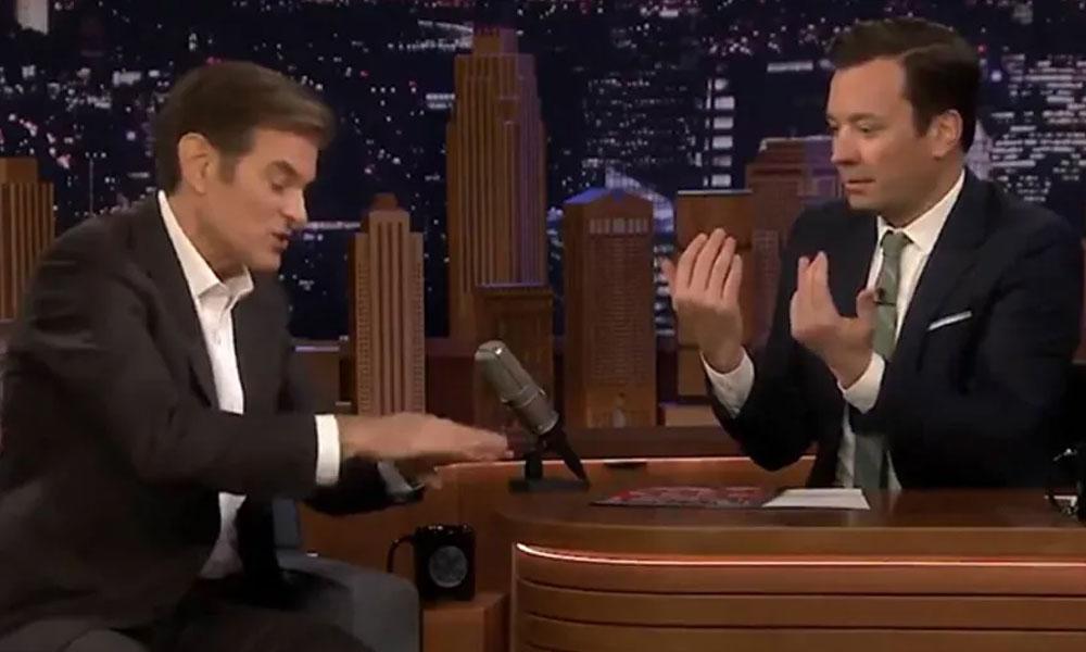 Mehmet Öz, Jimmy Fallon'da ABD'lilere Türk tipi el yıkamayı öğretti