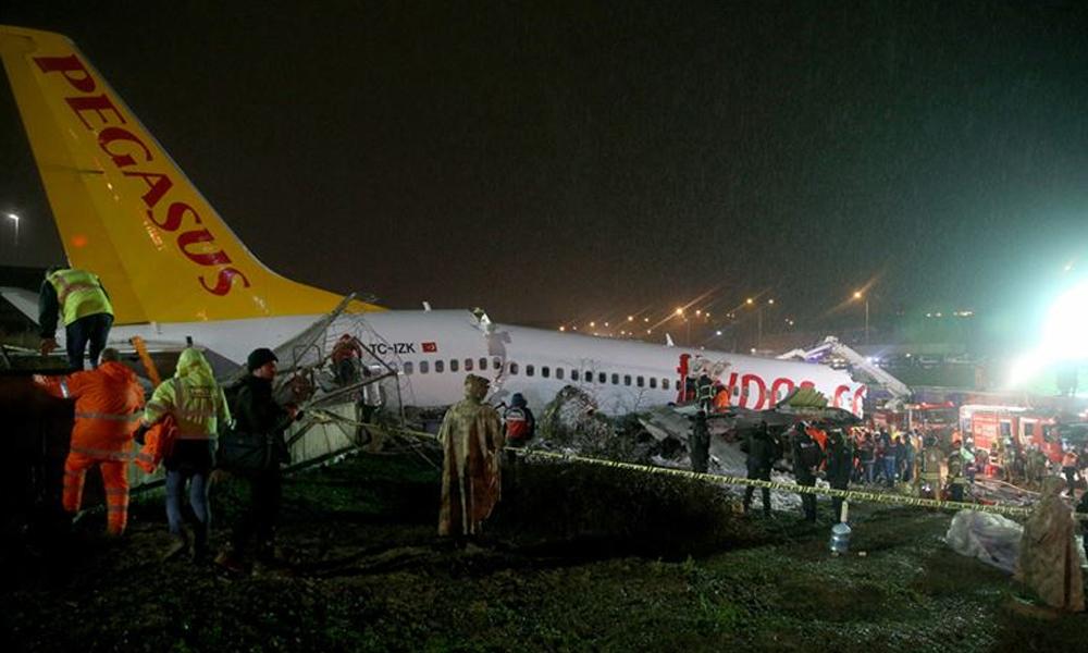 Sabiha Gökçen'de pistten çıkan uçağın pilotunun itirazı reddedildi