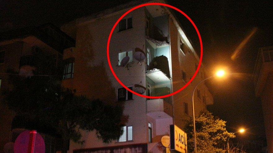 İstanbul'da facianın eşiğinden dönüldü!2 bina mühürlendi