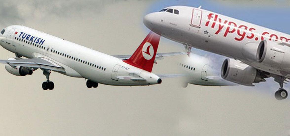 THY ve Pegasus 65 yaş üstü yolcu taşımayacak