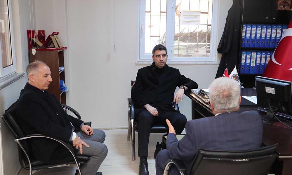 Başkan Gökhan Yüksel'den Topselvi ve Çavuşoğlu Mahalle Muhtarlıklarına ziyaret