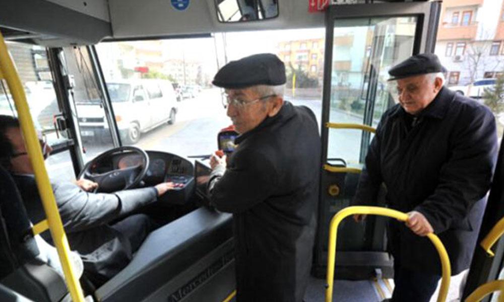 Koronavirüs nedeniyle otobüslerde 65 yaş üstü yolculara ücret kararı!