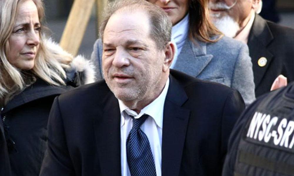 Tecavüz ve cinsel saldırı suçundan 23 yıl ceza alan yapımcı Weinstein koronavirüse yakalandı