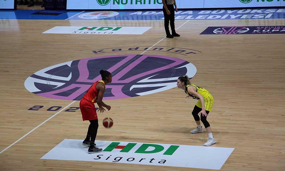 Basketbol Kadınlar Türkiye Kupası Adana'da oynanıyor