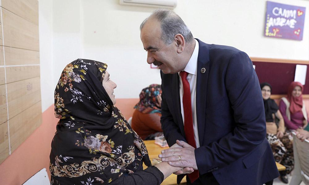 Başkan Türkyılmaz Mirzaobalı kadınlarla buluştu