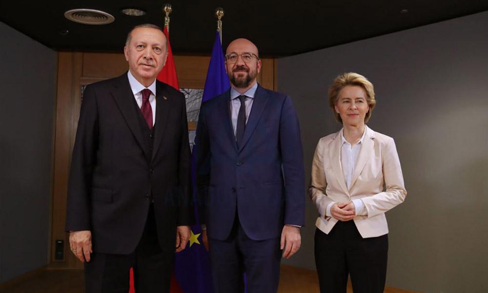 İngiliz basını: Erdoğan, AB ile yaptığı görüşmeyi terk etti