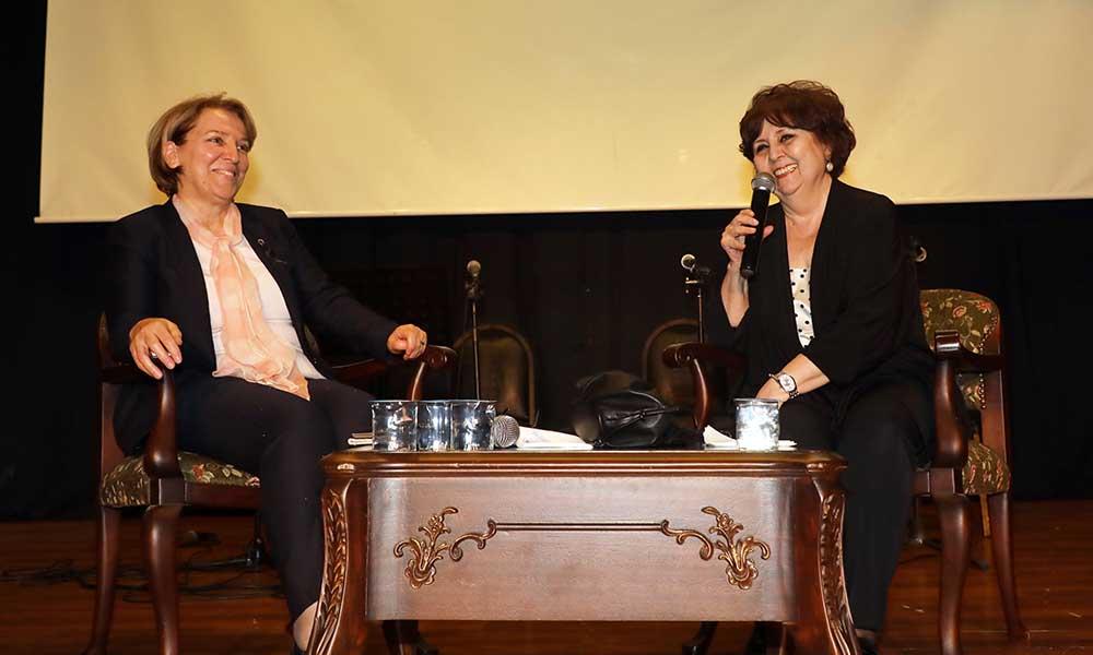 Ayşenur Arslan ve Ayşe Sucu Mudanyalı kadınlarla buluştu