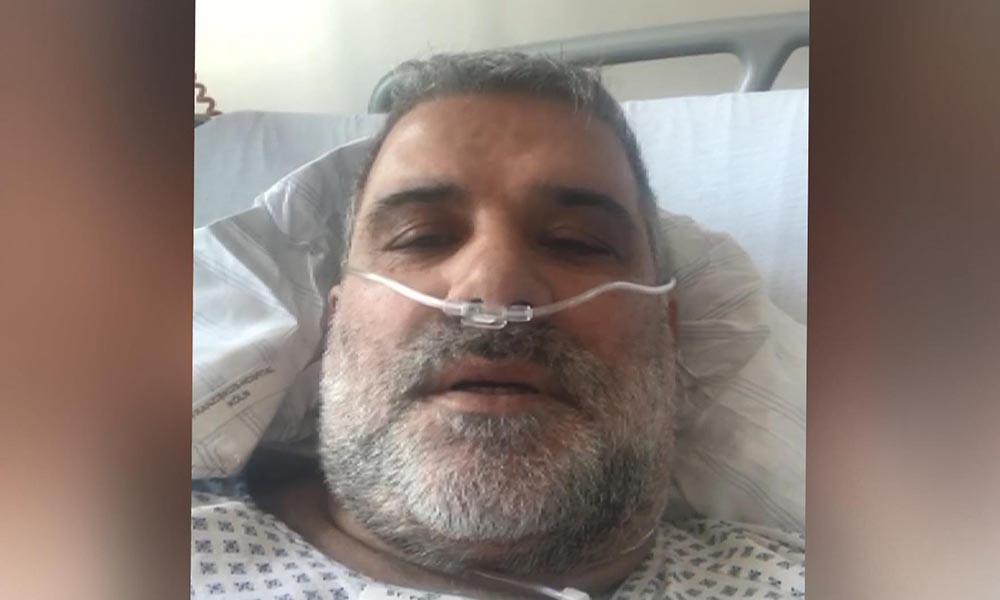 Bir Türk Almanya'da koronavirüsü yendi, yaşadıklarını kameraya aldı!