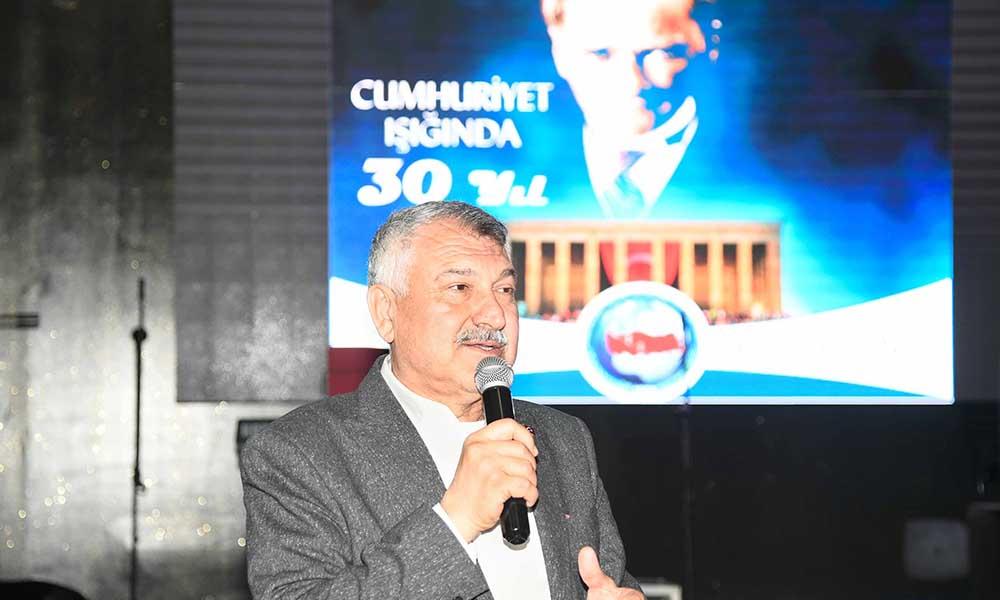 Başkan Zeydan Karalar, Adana'da yaşayan Balkan Türklerinin gecesine katıldı