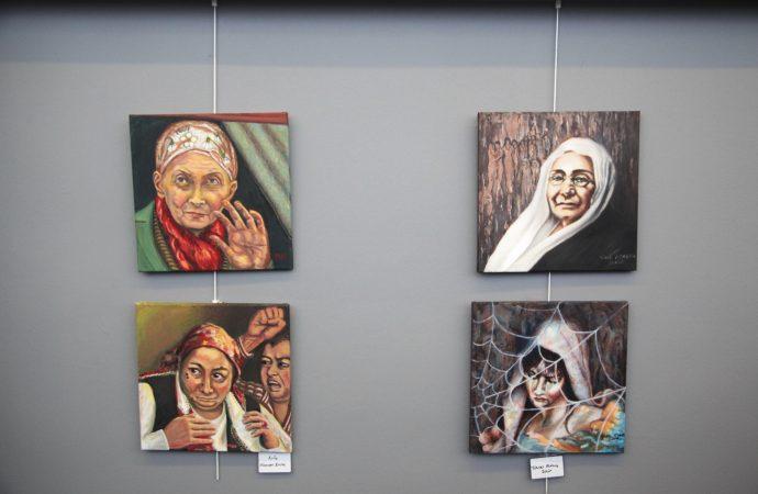 Yaralarım Aşktandır adlı resim sergisi Kartal'da ziyarete açıldı