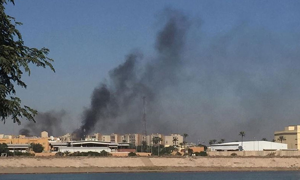 Bağdat'ta ABD elçiliğinin yer aldığı bölgeye füze saldırısı