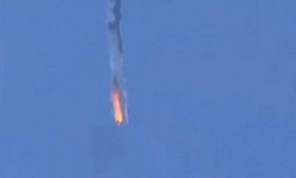 TSK, Suriye uçağını vurdu