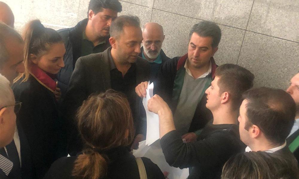 Hukuk garabeti. Hakimin tutanağında Murat Ağırel için hem serbest hem de tutuklama kararı