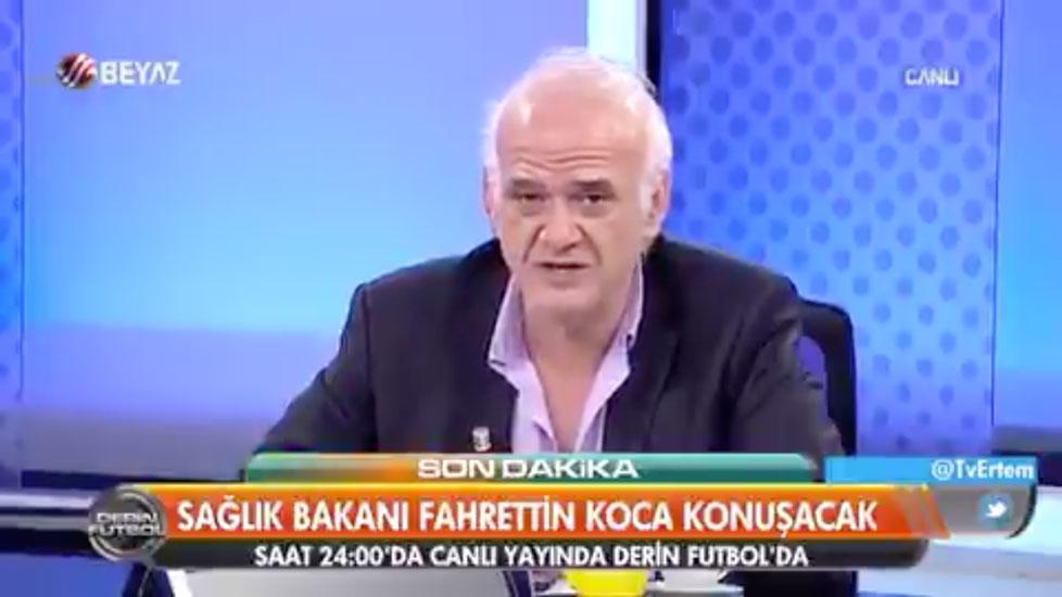 Beyaz TV'de, Türkiye'de koronavirüsten ölenlerin sayısı açıklandı