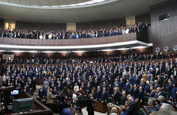 AKP grup toplantısını iptal etti
