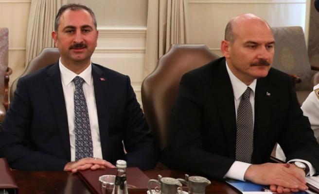 Süleyman Soylu ve Adalet Bakanı Gül arasında 'güvenlik soruşturması' krizi: 'İnsanlar nefes alamıyor'