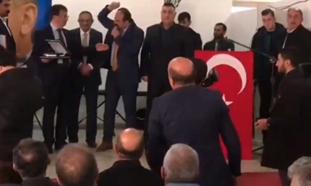 AKP'liler birbirine girdi, sandalyeler havada uçuştu: Şerefsizliği kabul etmiyorum