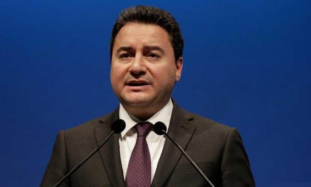 Ali Babacan erken seçim için tarih verdi! İşte seçim tarihi…
