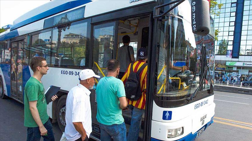 Ankara'da 65 yaş üstü ücretsiz ulaşım uygulaması askıya alındı