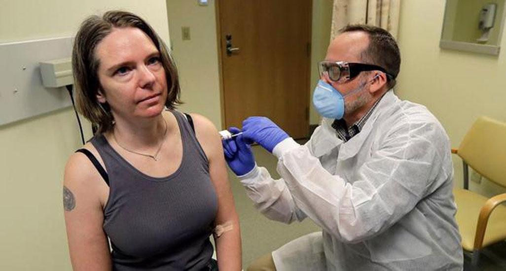 Umut veren gelişme! Koronavirüs aşısını ilk deneyen kadın: Kendimle gurur duyuyorum