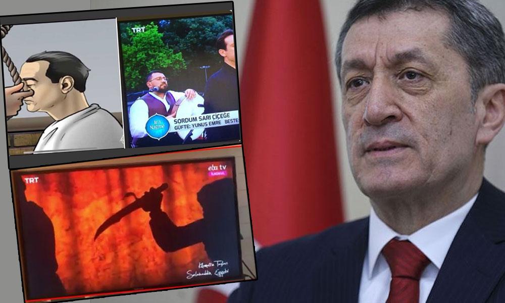 Bakan Selçuk 'idam ve kafa kesme' görüntülerine tepki gösterenlere çattı