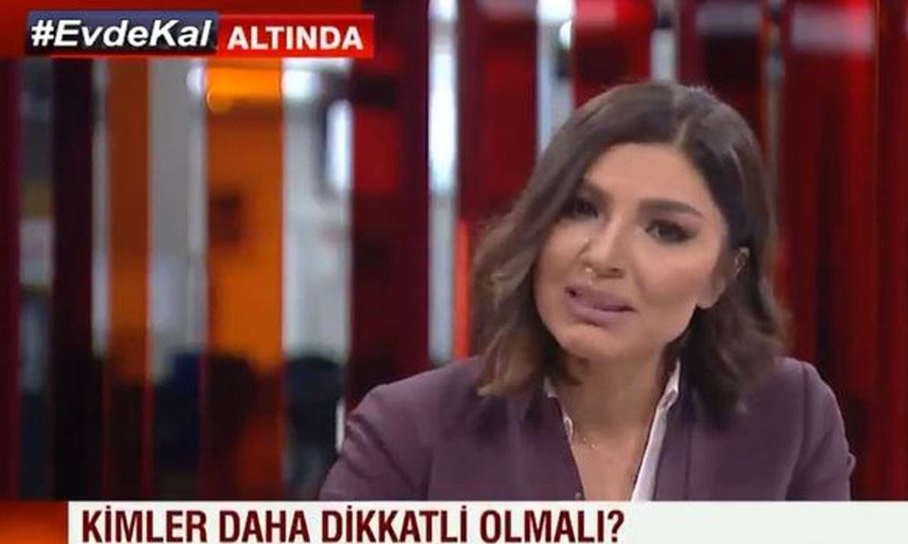 CNN Türk spikeri Güler, Dr. Tamur'un anlattıkları karşısında gözyaşlarını tutamadı
