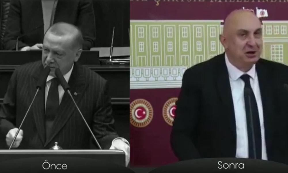 CHP'den Erdoğan'a videolu yanıt!
