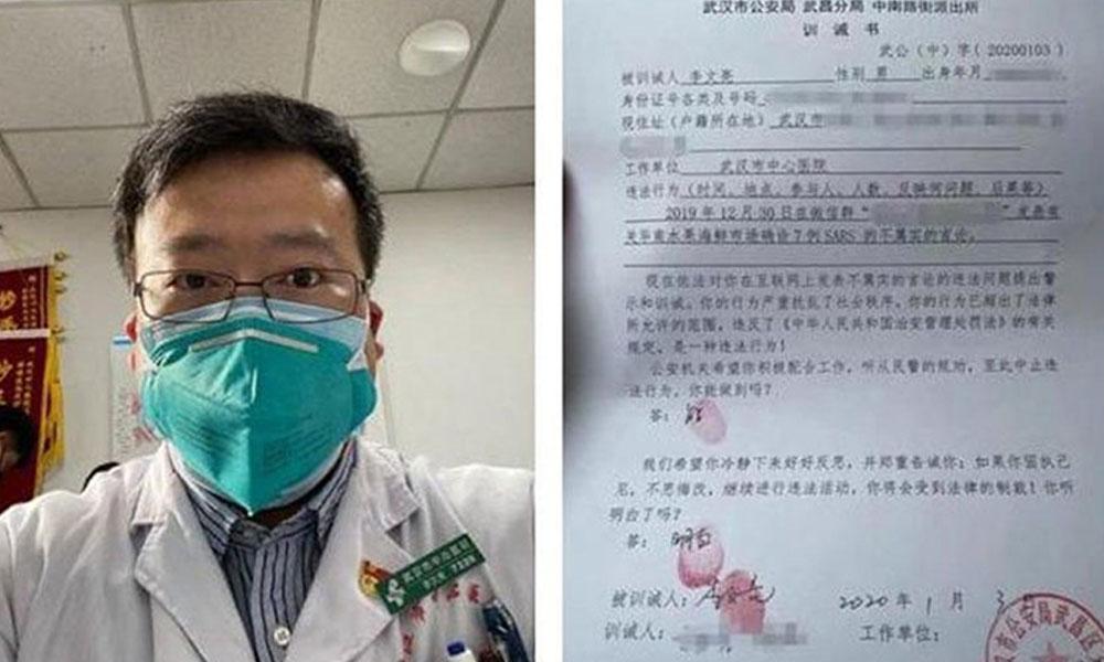 Çinli yetkililer, koronavirüsten ölen doktorun ailesinden özür diledi