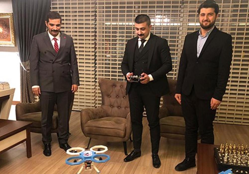 Ülkü Ocakları 'drone' tanıttı