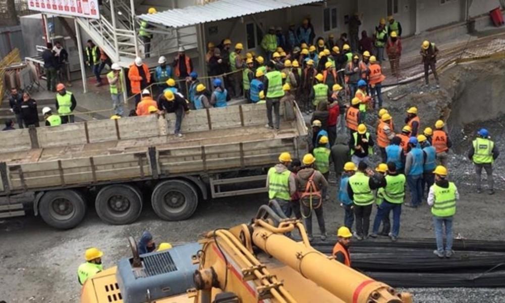 'Hasta işçi şantiyeye getirildi' iddiası! 300 işçi karantinada, 6 işçi hastanede