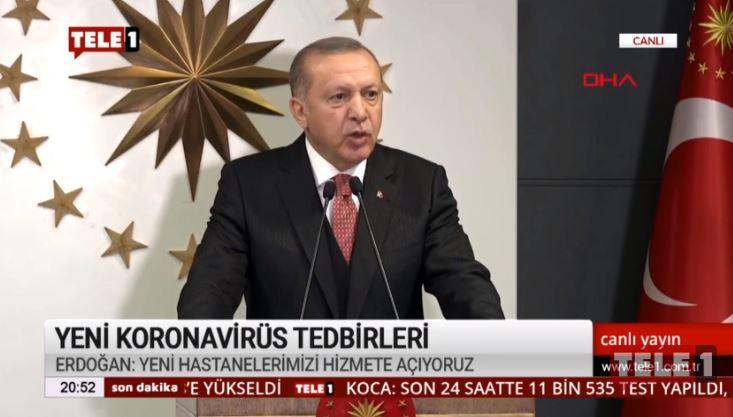 Erdoğan sokağa çıkma yasağı değil, bağış kampanyası açıkladı