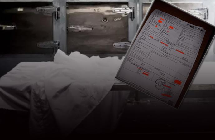 Skandal iddia! Rapora 'normal ölüm' olarak yazıldı karantina poşetiyle defnedildi!