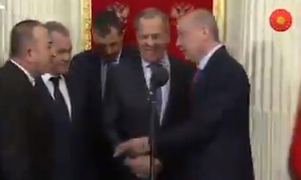 Erdoğan'dan Lavrov'a Esad sorusu