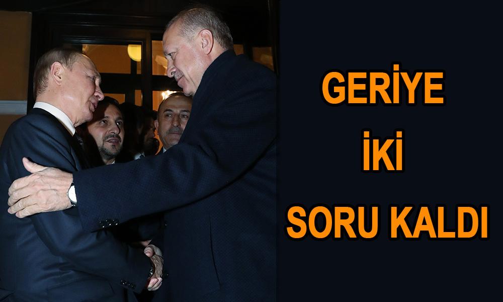 Erdoğan yönetiminin Moskova fiyaskosu