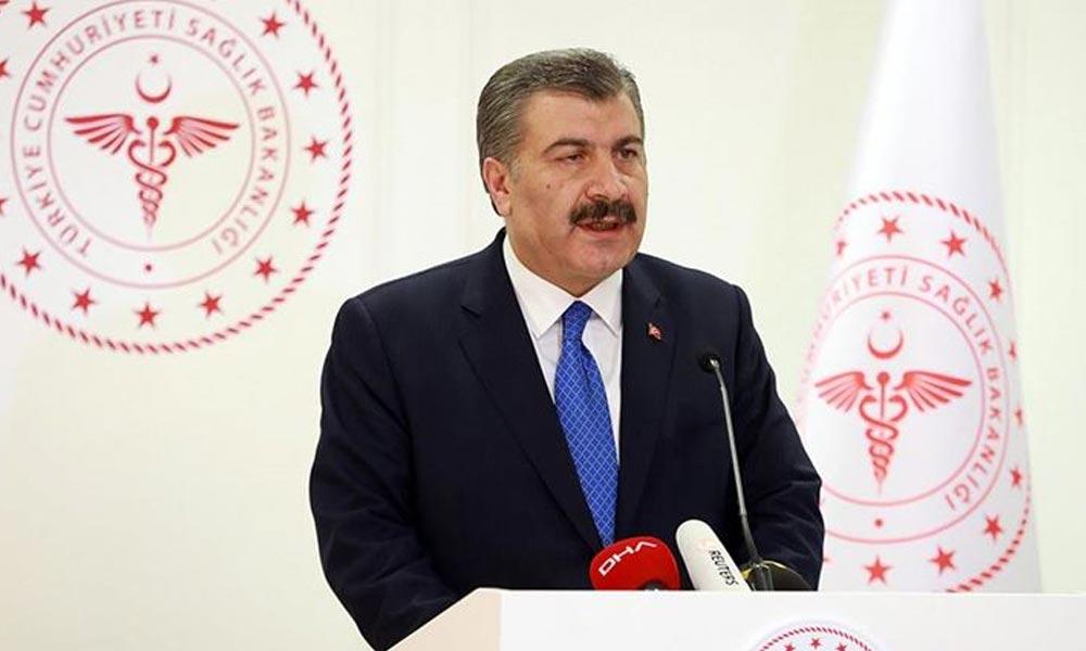 Sağlık Bakanı Koca yaptığı sunumda 4 kente dikkat çekti: Buralarda virüs pik yaptı
