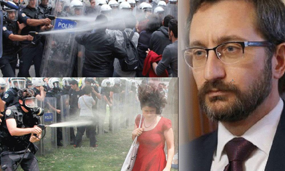 Saray'dan Yunanistan'a: Biber gazı sıkan ülke ahlaktan bahsedemez