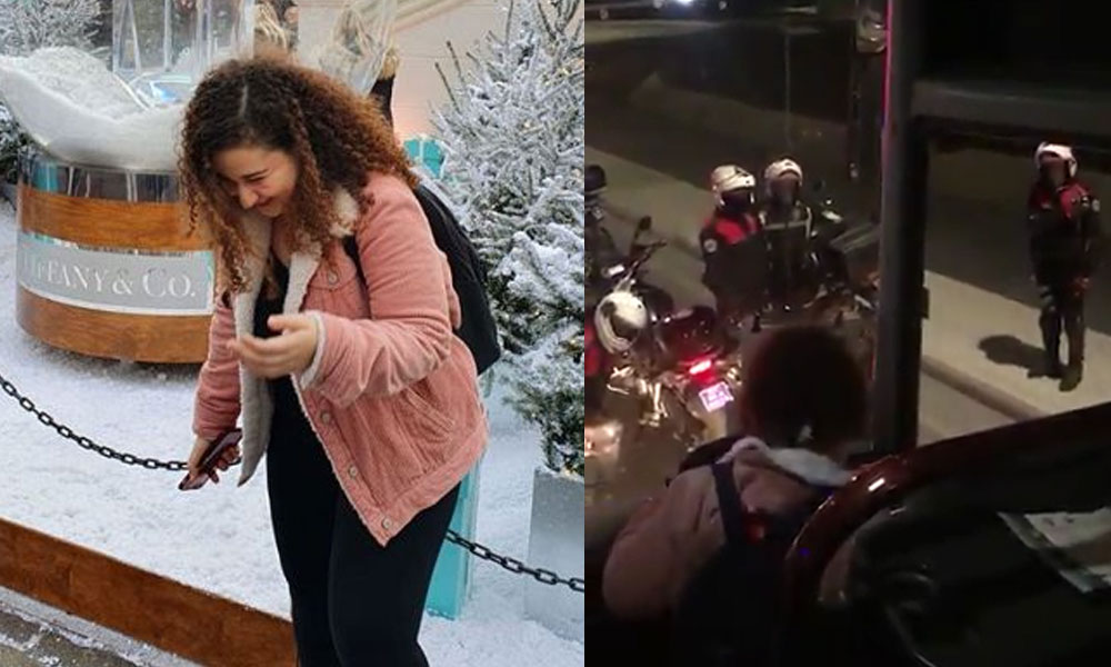 Polis karantina otobüsünden KKTC'li müdürün Paris'ten gelen kızını kaçırdı