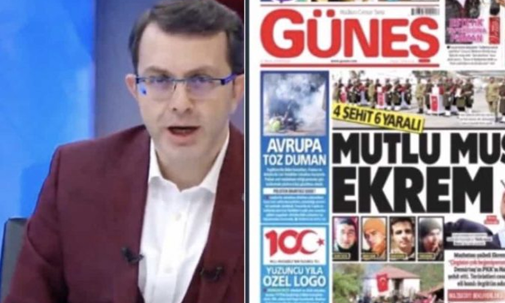 Seçim sonrası eke dönüşen Güneş Gazetesi'ni basmayı unuttular!