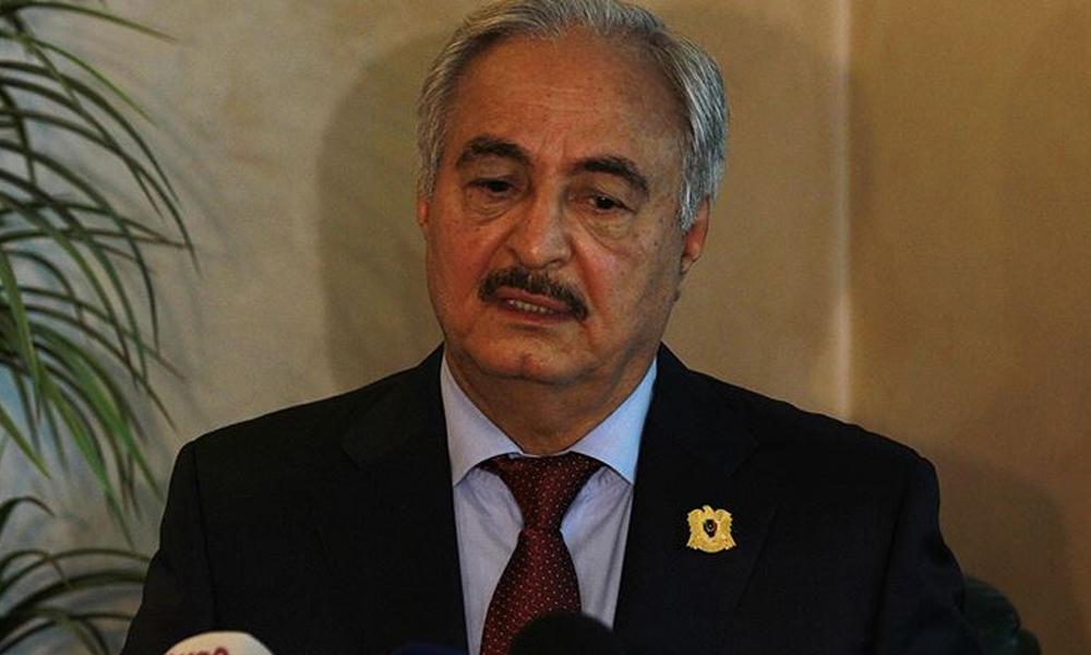Suriye'de büyükelçilik açan Hafter'den Türkiye'ye savaş çağrısı